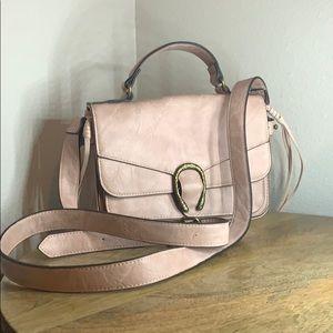 Light pink crossbody/handbag